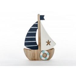Barca in legno. H 16