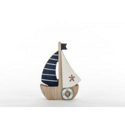 Barca in legno. H 12