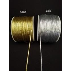 Cordino oro o argento. MT 100