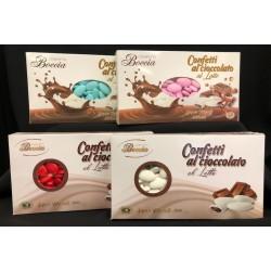 Confetti cioccolato al latte. KG 1 (pz 300 ca)