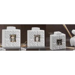 Profumatore resina con icona legno e scatola. CM 7.5x6.5 MADE IN ITALY