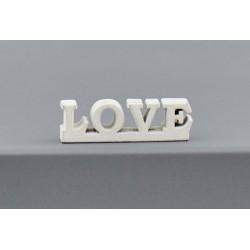 Set 36 scritte LOVE in legno. CM 3