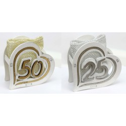 Scatola legno con sacchettino interno, oro o argento. CM 8X3.5 H 8