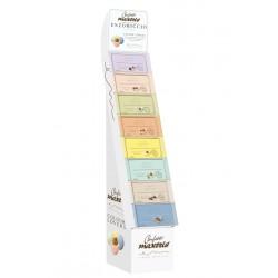 Espositore confetti completo di 8 kg di cioccomandorla EM. KG 8 di confetti totali