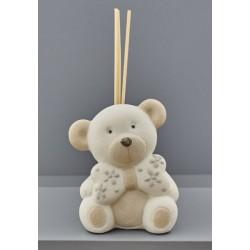 Profumatore ceramica orso. CM 8x8 H 10