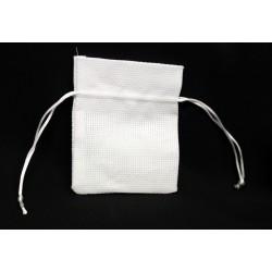 Sacchetto tessuto con tirante. CM 10x12
