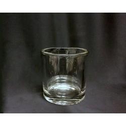 Cilindro vetro. Misure interne: Diam. 8.2-H 8.5 - Esterne Diam. 9.8-H 9.8