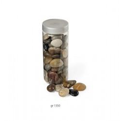 Barattolo sassi decorativi.KG.1,350