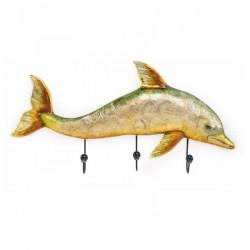 Pesce in metallo appendiabiti. CM 65