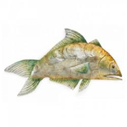 Pesce tropicale in metallo da appendere L. 52.5