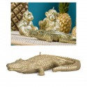 Candela coccodrillo oro L22