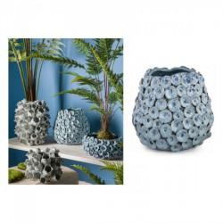 Vaso ceramica fatto a mano. Diam. 26 H 24