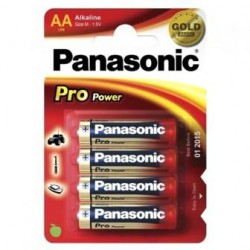 ALKALINA PANASONIC BL.4PZ STILO PRO POWER LR06