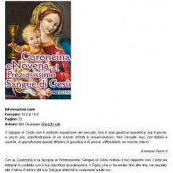 LIBRO CORONCINA E NOVENA AL PREZIOSISS.SANGUE