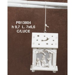 LANTERNA SACRA FAM. 10 CM 13804