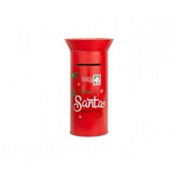 Cassetta della posta di Babbo Natale. Diam. 45 H 77.5