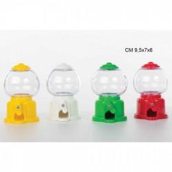 """Dispenser confetti, adatto SOLO per confeti cioccolato CODICE """"MINI"""". Ass 4 colori.  H 10"""