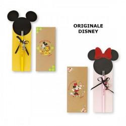 Matita Mickey e Minnie Mouse con charms, pakaging incluso. CM 21