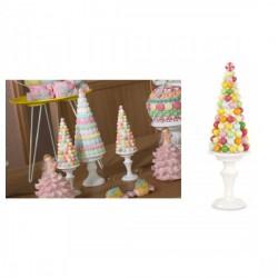 Albero decorativo Candy Bar in resina. CM 32