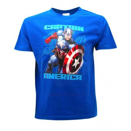 T-Shirt Captain America Avengers Marvel