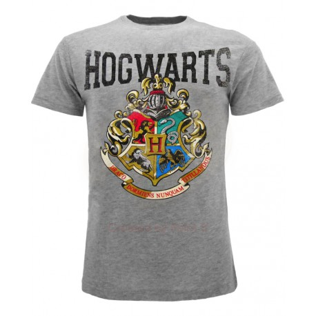 T-Shirt Harry Potter Stemma Hogwarts