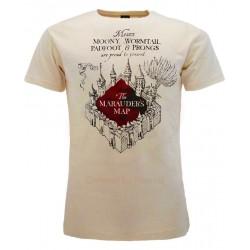 T-Shirt Harry Potter Mappa del Malandrino