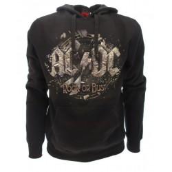 Felpa Music AC/DC Rock or Bust