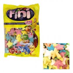 Caramelle gommose ricoperte di zucchero forma stelle colorate. KG 1 SENZA GLUTINE