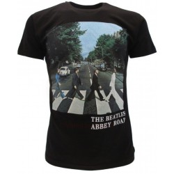 T-Shirt Music Beatles Abbey Road