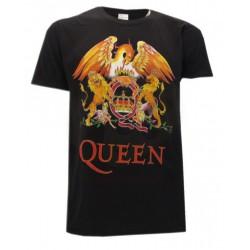 T-Shirt Music Queen logo