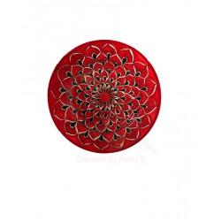 Piatto frutta in ceramica di Deruta - decori diversi - diametro cm 20 - Artigianato Artistico Fatto a Mano