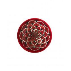 Piatto fondina in ceramica di Deruta - decori diversi - diametro cm 20- Artigianato Artistico Fatto a Mano