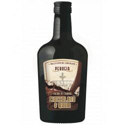 Crema Liquore Cioccolato & Rhum 15% Alc.-Vol. - bottiglia 700 ML- Prodotti Tipici Umbri