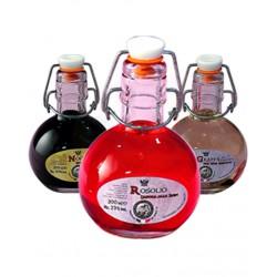 Degustazione scatola n.6 bottiglie mix Liquori Pallina - Bottigliette da 200 ML - Prodotti Tipici Umbri