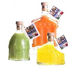 Degustazione Scatola  da n. 18 bottiglie Mix Liquori Umbria -bottiglie da 200 ML-Prodotti Tipici Umbri
