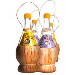 Degustazione Scatola  da n. 32 bottigliette Mix Liquori Umbria -bottiglie da 100 ML-Prodotti Tipici Umbri