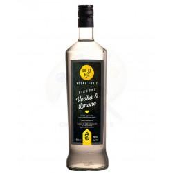 Liquore Vodka Limone al 20% Alc.-Vol. -bottiglia da 1 Lt - Prodotti Tipici Umbri