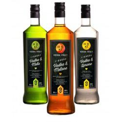 Degustazione Scatola  da n. 6 bottiglie Mix Liquori Umbria -bottiglie da 1 LT-Prodotti Tipici Umbri