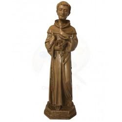 Statua-san-francesco-resina-naturale-colombe-cm-30-artigianato-artistico-fatto-a-mano