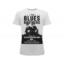 T-shirt The Blues Brothers, cotone 100%. Prodotto originale venduto su licenza.