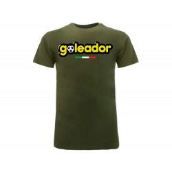 T-Shirt Goleador Logo, cotone 100%. Prodotto originale venduto su licenza.