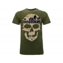 T-Shirt Goonies Mappa Teschio, cotone 100%. Prodotto originale venduto su licenza.
