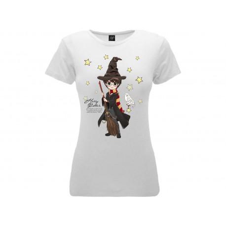 T-Shirt Harry Potter Donna , cotone 100%. Prodotto originale venduto su licenza.