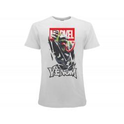 T-Shirt Venom Marvel, cotone 100%. Prodotto originale venduto su licenza.