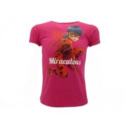 T-Shirt Miraculous, cotone 100%. Prodotto originale venduto su licenza.