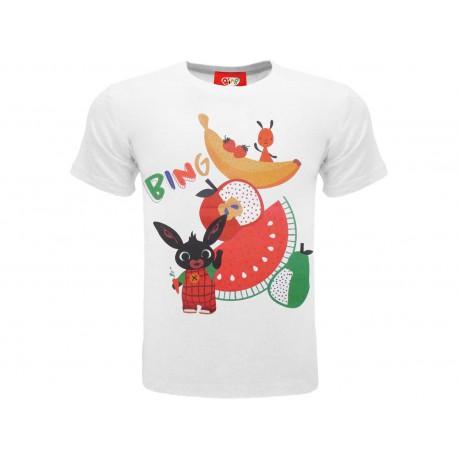 T-Shirt Bing Frutta, cotone 100%. Prodotto originale venduto su licenza.