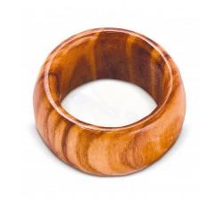 Anello in legno di olivo -varie grandezze - Artigianato Artistico fatto a mano