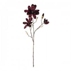 Ramo magnolia color vinaccia e oro. CM 86
