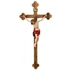 Corpo di Cristo su croce barocca