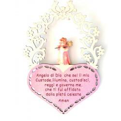 Angelo custode con preghierina